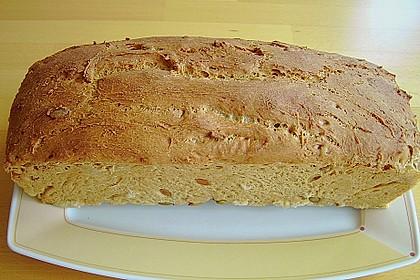 Steirisches Kürbiskern-Brot mit Kürbiskernöl 24
