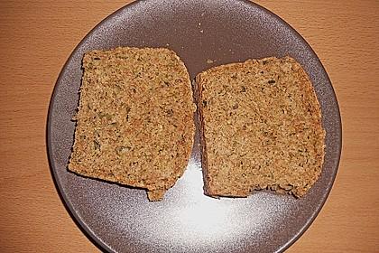 Steirisches Kürbiskern-Brot mit Kürbiskernöl 9