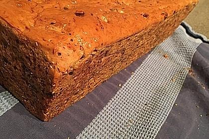 Steirisches Kürbiskern-Brot mit Kürbiskernöl 10