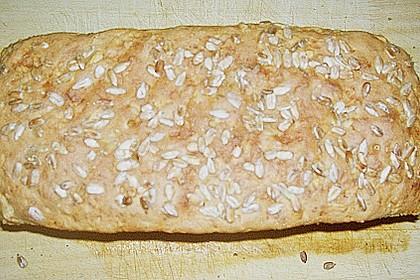 Steirisches Kürbiskern-Brot mit Kürbiskernöl 51