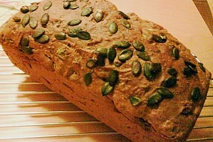 Steirisches Kürbiskern-Brot mit Kürbiskernöl 73