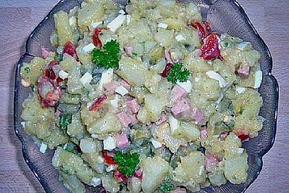 Bunter Kartoffelsalat ohne Mayonnaise 2