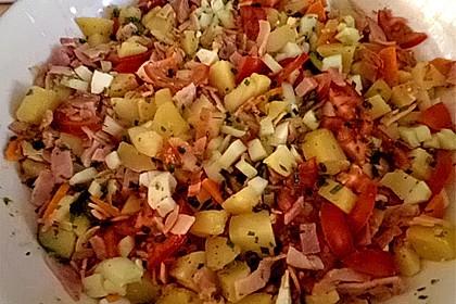 Bunter Kartoffelsalat ohne Mayonnaise 1