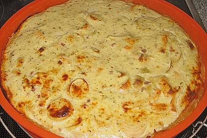 Kartoffel - Lauch - Torte 2