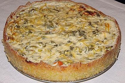 Kartoffel - Lauch - Torte 4