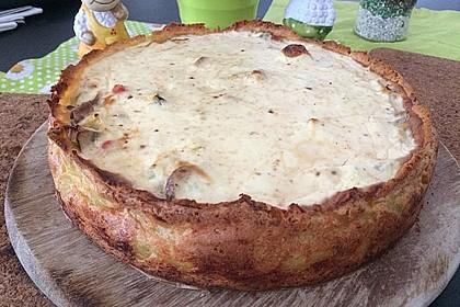 Kartoffel - Lauch - Torte 1