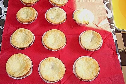 Frischkäse - Muffins mit Brombeeren
