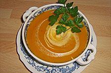 Kartoffelsuppe mit Kürbis