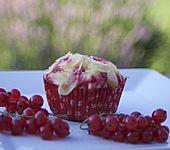 Johannisbeer - Rahm - Muffins