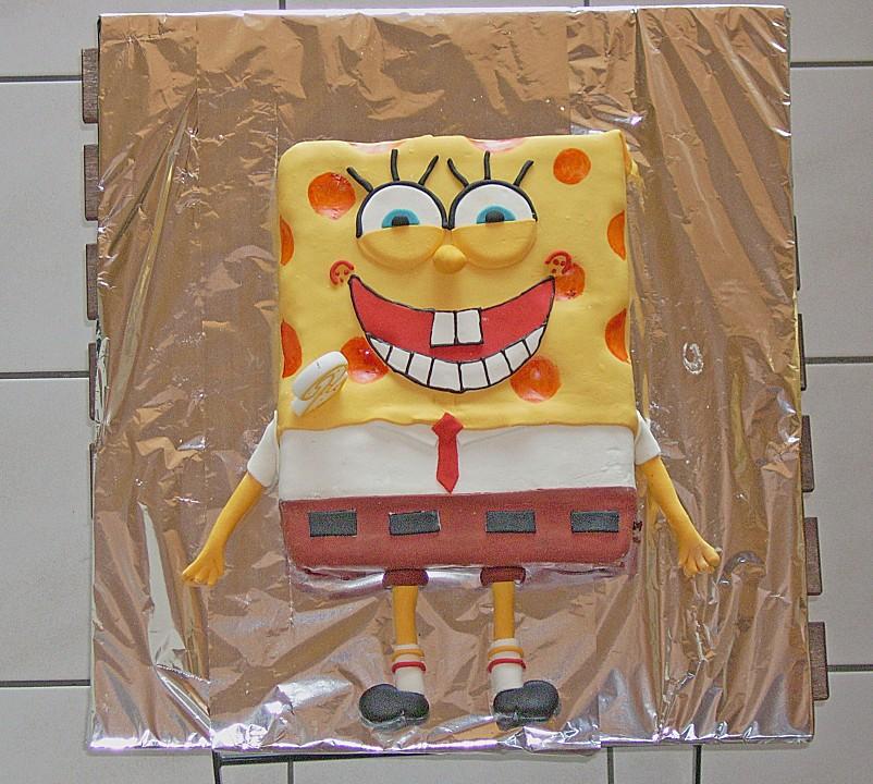 spongebob torte von kandisflocke. Black Bedroom Furniture Sets. Home Design Ideas