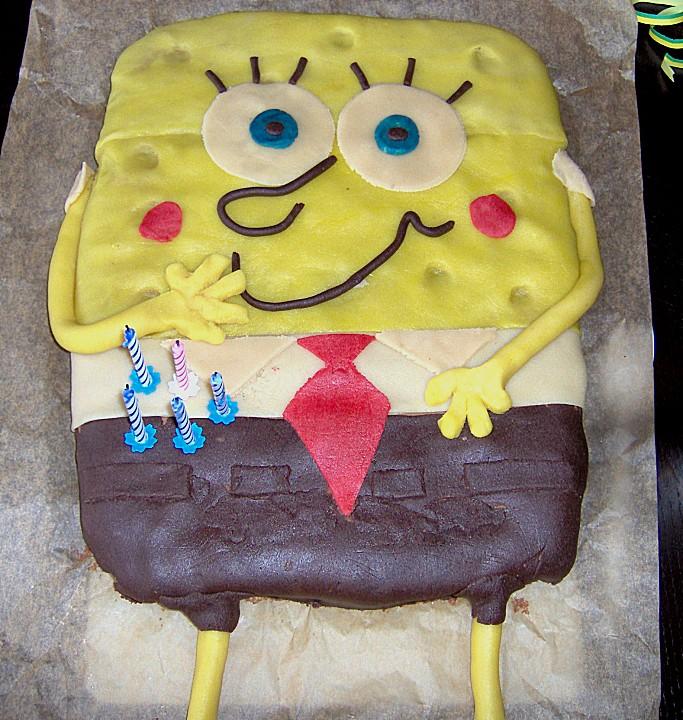 spongebob torte rezept mit bild von kandisflocke. Black Bedroom Furniture Sets. Home Design Ideas