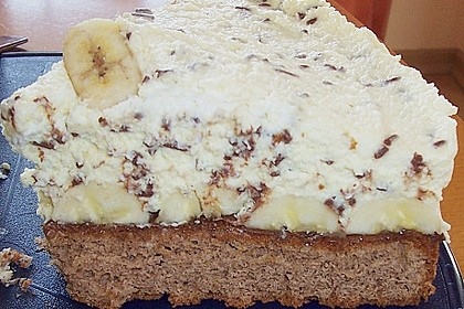 Bananen - Split - Torte 3