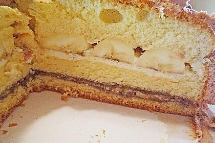 Bananen - Split - Torte 9