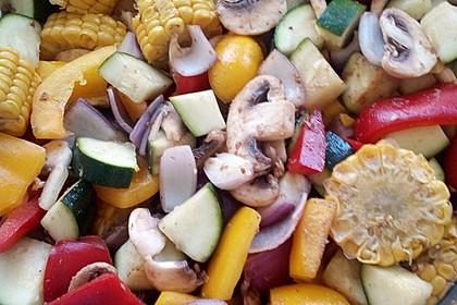 Gemüsespieß zum Grillen 16