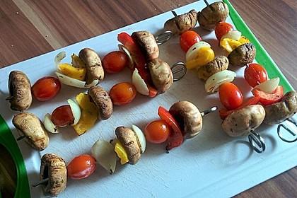 Gemüsespieß zum Grillen 11