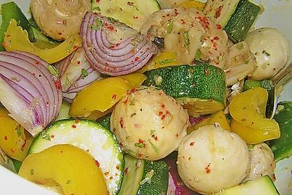 Gemüsespieß zum Grillen 12