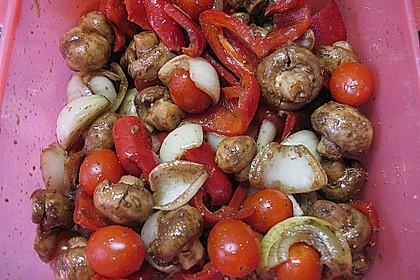 Gemüsespieß zum Grillen 19
