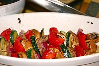 Gemüsespieß zum Grillen 15
