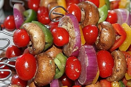 Gemüsespieß zum Grillen 3