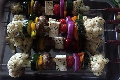 Gemüsespieß zum Grillen 8