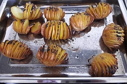 Würzige Fächerkartoffeln 9