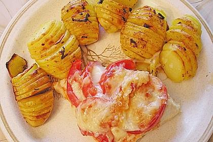 Würzige Fächerkartoffeln 8