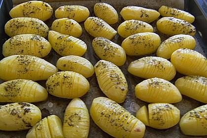 Würzige Fächerkartoffeln 12