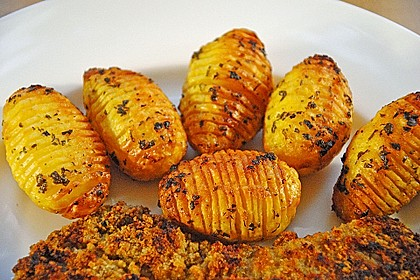 Würzige Fächerkartoffeln 6