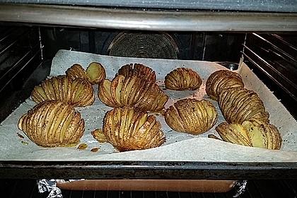 Würzige Fächerkartoffeln 2