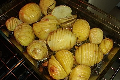 Würzige Fächerkartoffeln 7