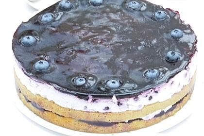 Heidelbeer - Schmand - Torte 1