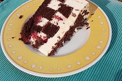 Himbeer - Schachbrett - Torte 38