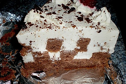 Himbeer - Schachbrett - Torte 104