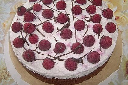 Himbeer - Schachbrett - Torte 56