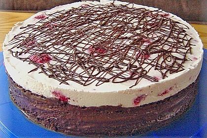 Himbeer - Schachbrett - Torte 77