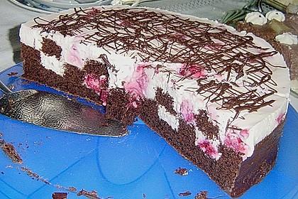 Himbeer - Schachbrett - Torte 60