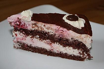 Himbeer - Schachbrett - Torte 93