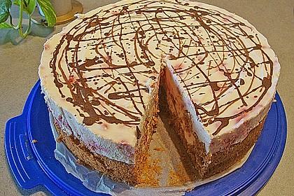 Himbeer - Schachbrett - Torte 70