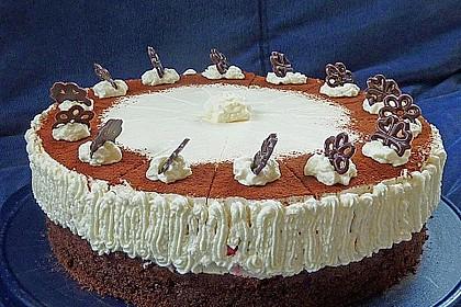 Himbeer - Schachbrett - Torte 29