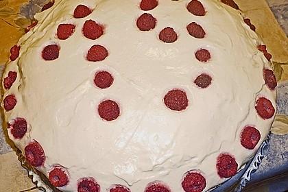 Himbeer - Schachbrett - Torte 106
