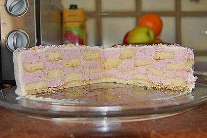 Himbeer - Schachbrett - Torte 98