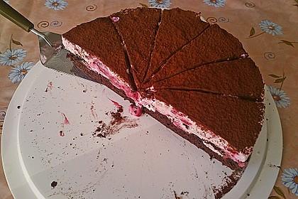 Himbeer - Schachbrett - Torte 78
