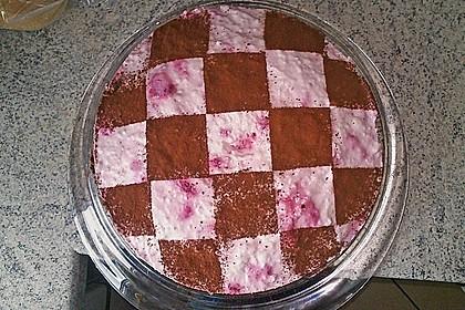Himbeer - Schachbrett - Torte 105