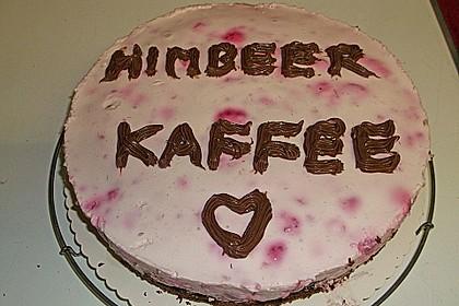 Himbeer - Schachbrett - Torte 94