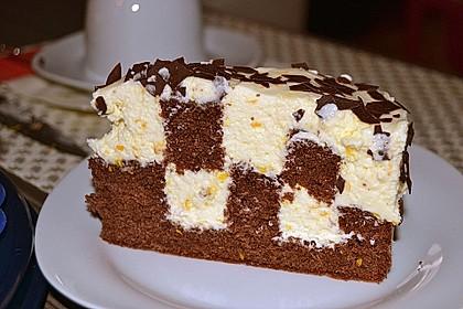 Himbeer - Schachbrett - Torte 27