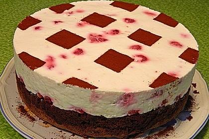 Himbeer - Schachbrett - Torte 32