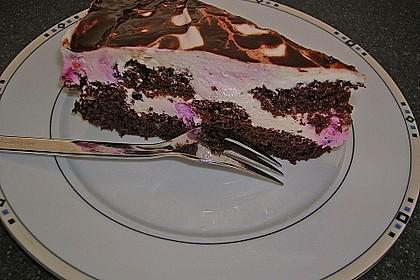 Himbeer - Schachbrett - Torte 40