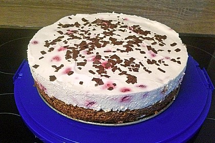 Himbeer - Schachbrett - Torte 95