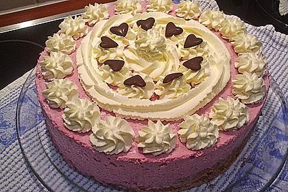 Himbeer - Schachbrett - Torte 54
