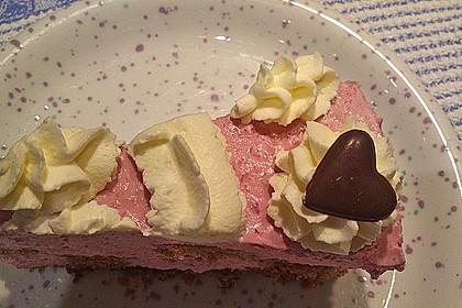 Himbeer - Schachbrett - Torte 110